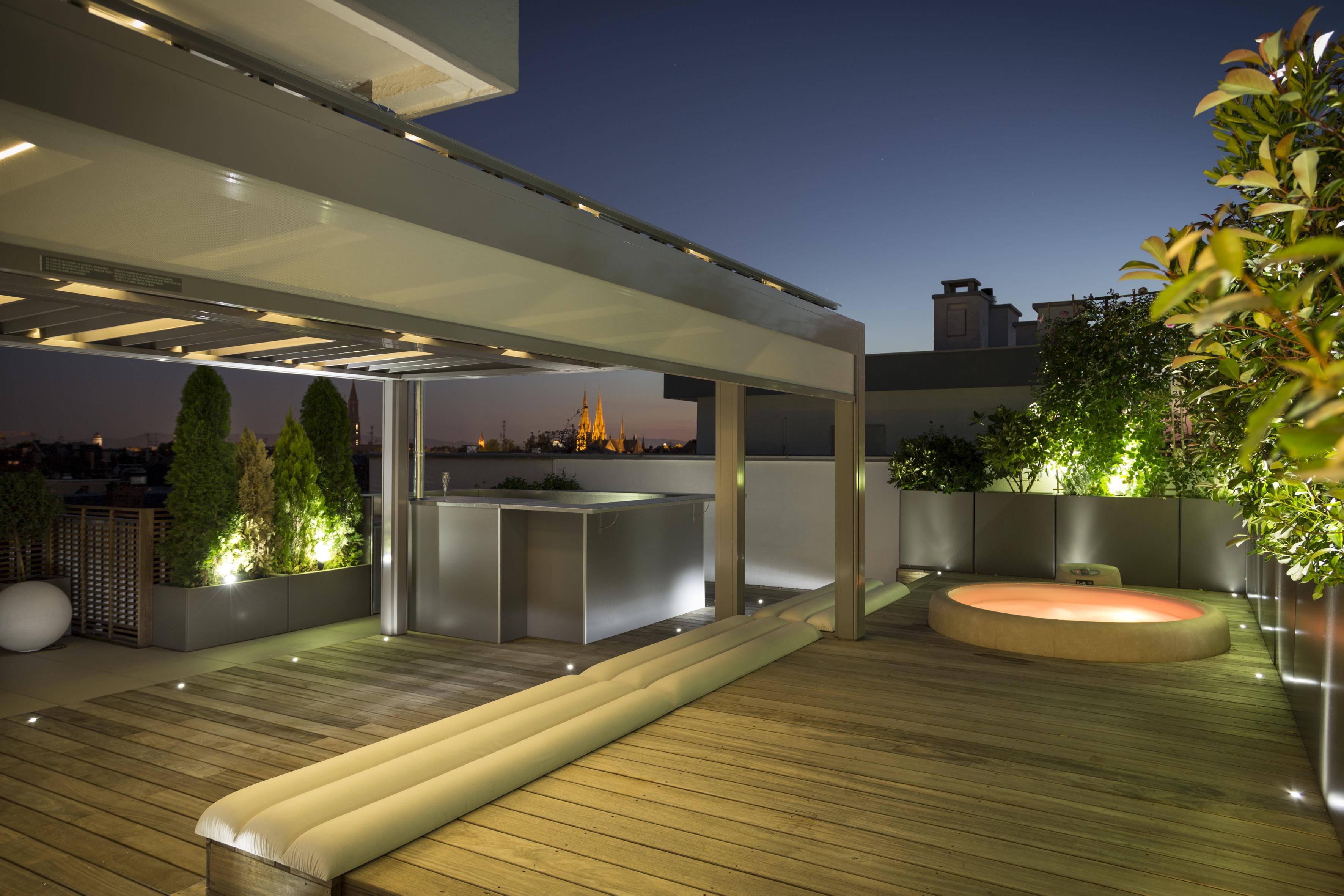 Aménagement de terrasse à Paris 15 - création terrasse ...