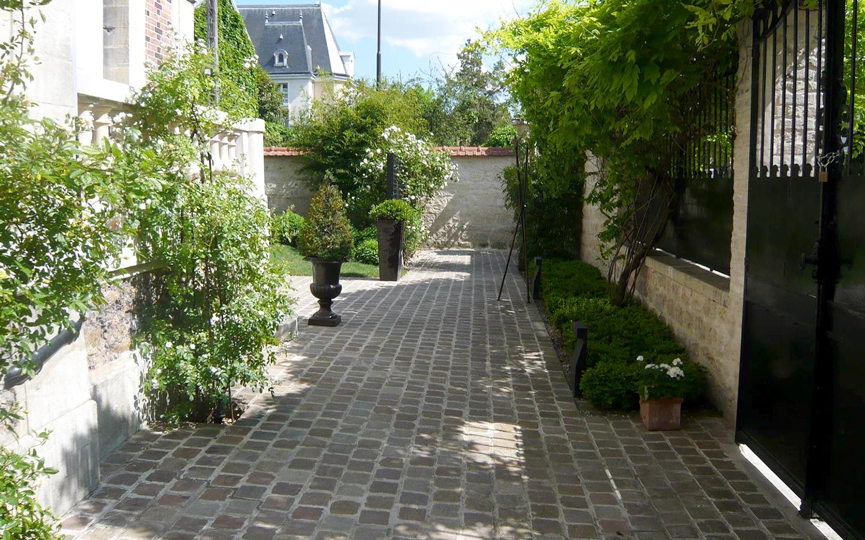 création de jardin avec un architecte paysagiste à paris 15
